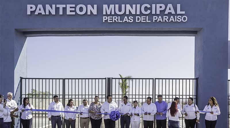 """Entra en funciones el nuevo panteón municipal """"Perlas del Paraíso"""""""