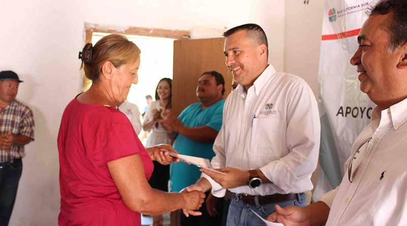 Total apoyo a familias de comunidades rurales; SEDESO