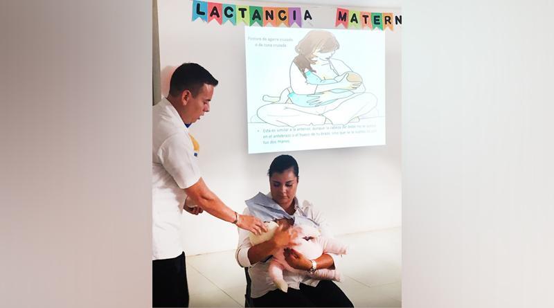 Desarrolla SSA de BCS semana de la lactancia materna