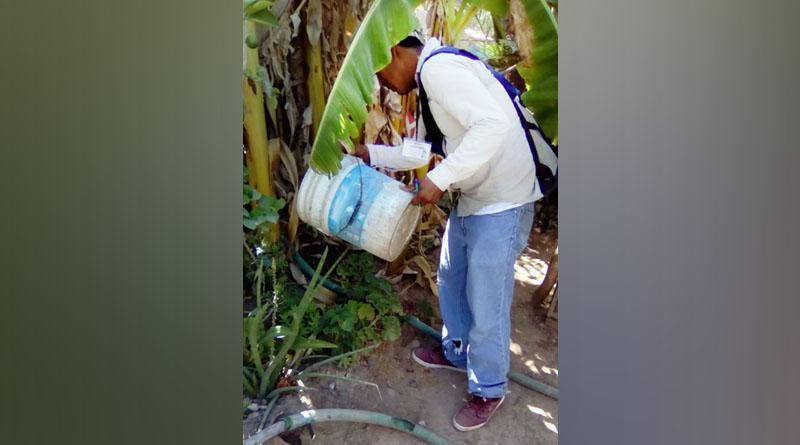 Brigadas de control larvario de SSA de BCS atienden colonias de Comondú