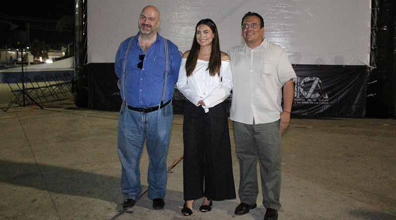Destaca actriz Ana Brenda Contreras la importancia de inculcar el cine y llevarlo a la comunidad