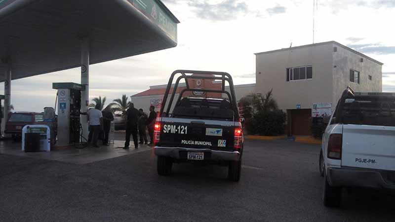 Otro robo con violencia en gasolinera de La Paz