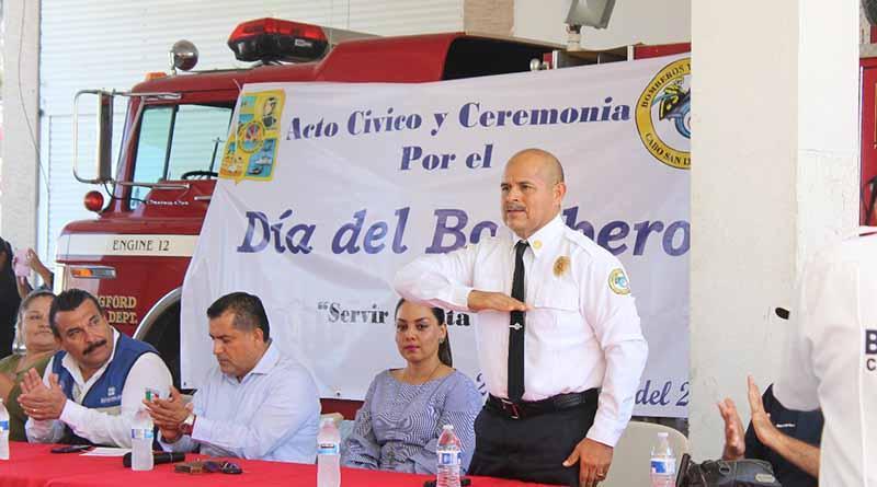 Destacan labor de certificación a nivel nacional en el Día del Bombero en CSL