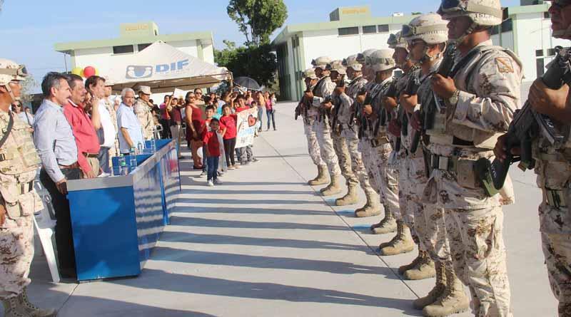 Gobierno Municipal Da Bienvenida al 17 Regimiento de Caballería Motorizada: HGB