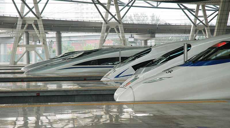 Trenes de levitación magnética ganan terreno en China