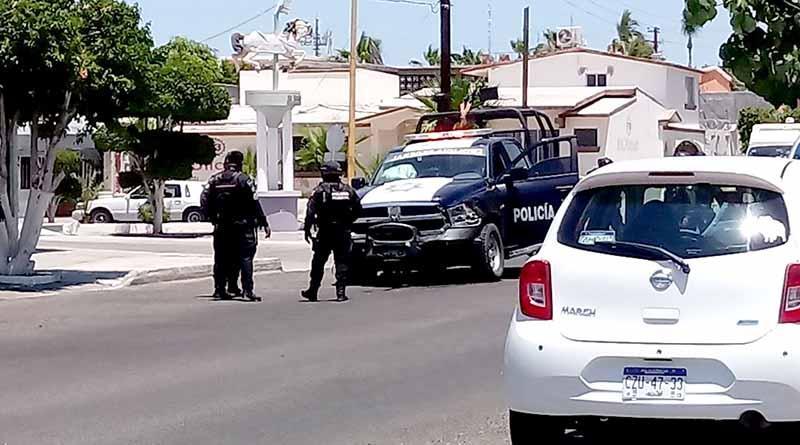 Persecución, balazos y choque en zona centro de La Paz