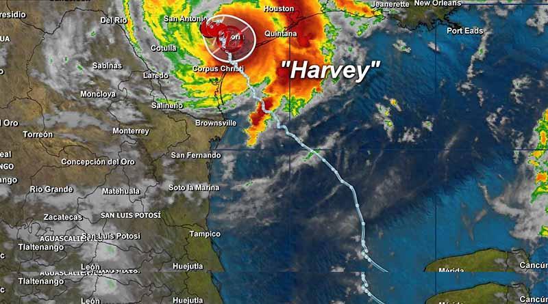 Efectos de Harvey se extenderán en el noreste de México