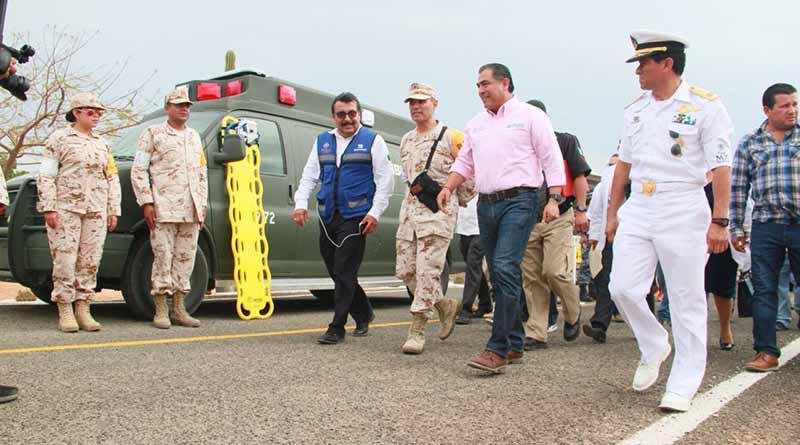 Elementos de Seguridad Pública desplegados para garantizar la seguridad en Los Cabos