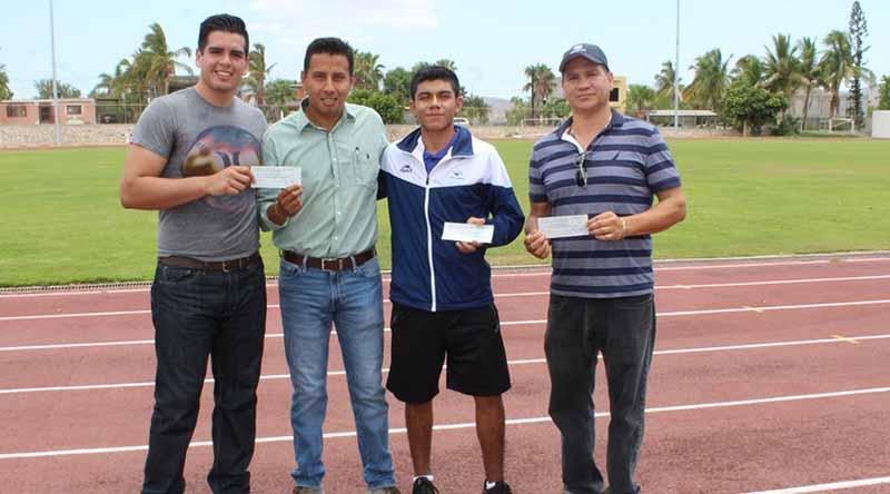 La XII Administración ha tenido a bien apoyar a deportistas cabeños que asisten a eventos internacionales