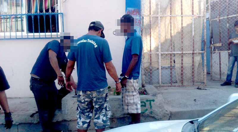 Detienen a tres sujetos por reconectarse clandestinamente a red de agua en CSL, deben 6 años