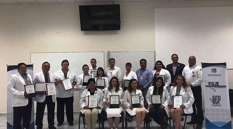 Concluyen actividades del Diplomado en Medicina Legal y Forense para personal de la PGJE