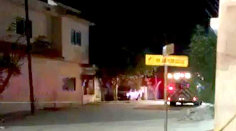 Asesinan a balazos a una persona en patio de hotel en El Zacatal