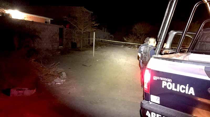 Localizan hombre asesinado y amarrado en colonia de La Paz
