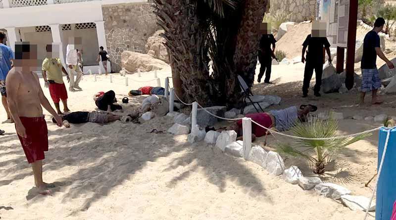 Acribillan a cinco en playa Palmilla, tres muertos y dos heridos
