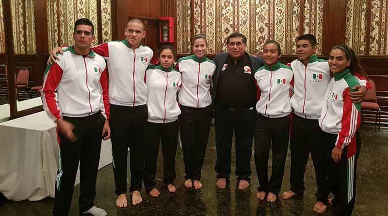 Entran en acción karatecas sudcalifornianos en Argentina