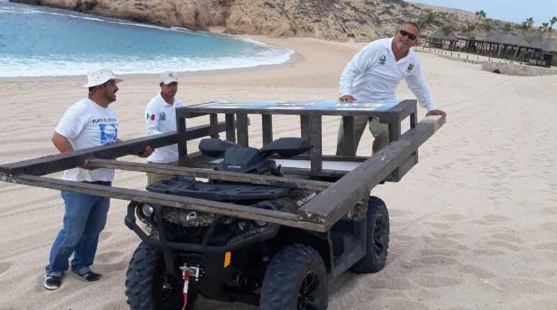 Se realizó el retiro de infraestructura en las playas del municipio