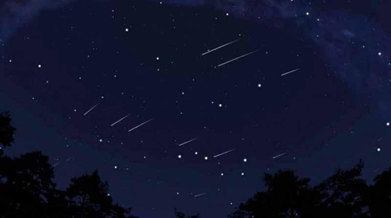 Hoy habrá lluvia de meteoros brillantes