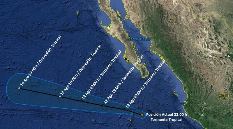 Se forma la Tormenta Tropical Jova al sur de BCS