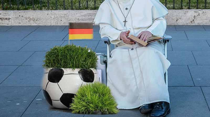 """Papa Francisco pide a futbolistas alemanes ser """"atletas de bien y de paz"""""""