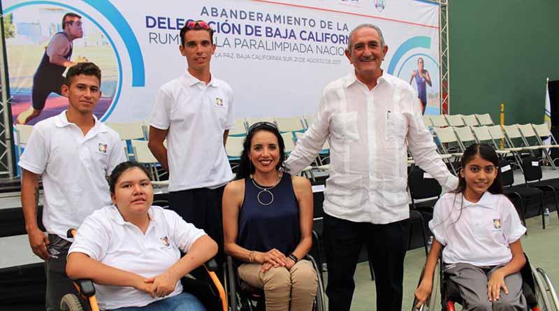Viajan atletas sudcalifornianos a la Paralimpiada
