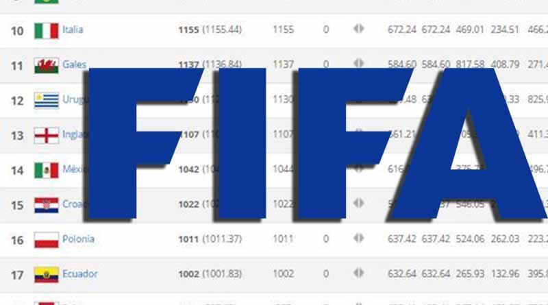 Selección de México escala puestos en ranking FIFA del mes de agosto