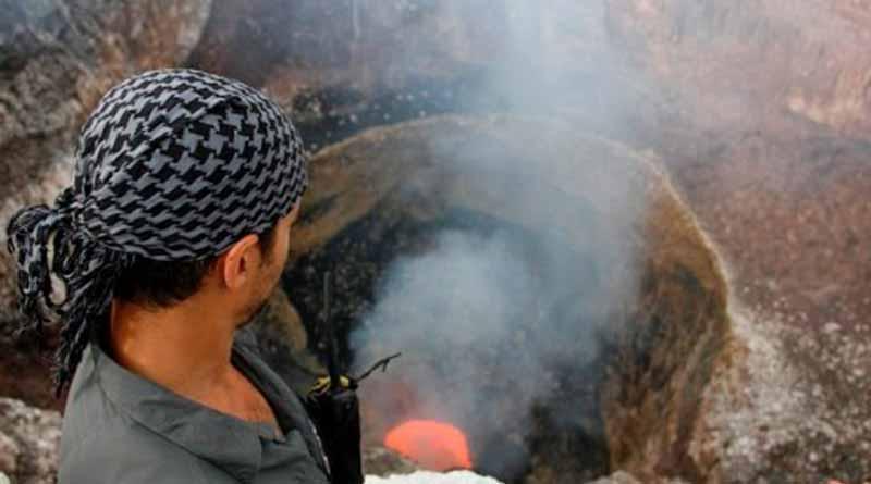 Sam Cossman, el explorador que desafía la fuerza de los volcanes más peligrosos