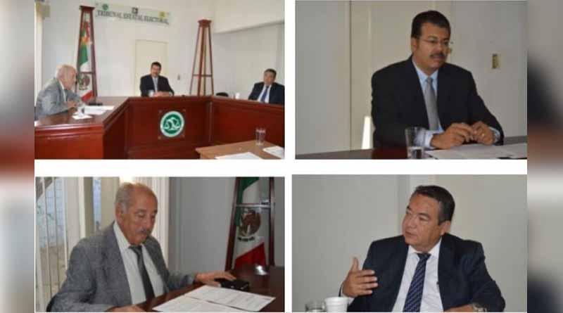 Se llevó a cabo sesión pública del Pleno del TEE-BCS