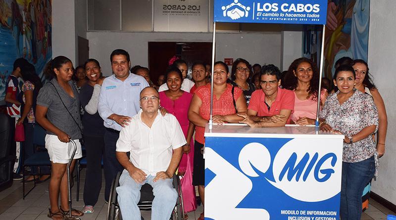 Inauguran módulo ¨MIG¨ para atención a personas con discapacidad en CSL