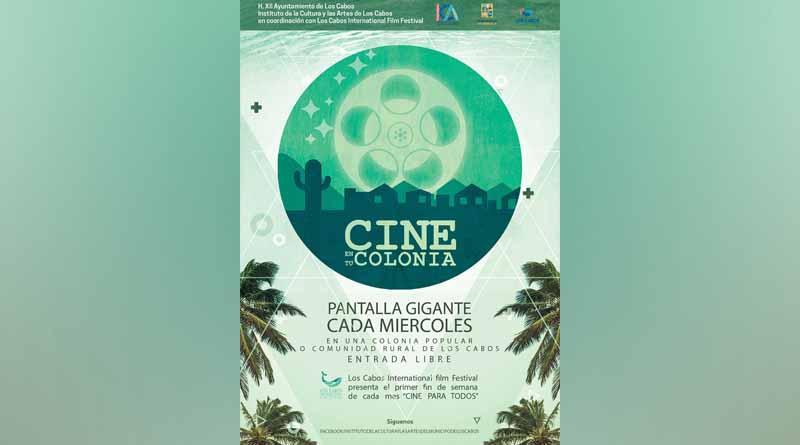 """Éste miércoles el programa """"Cine en tu colonia"""" llega hasta la zona rural"""