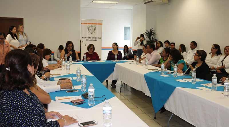 El IMMUJER llevo a cabo la sexta reunión del Consejo Municipal de la Mujer