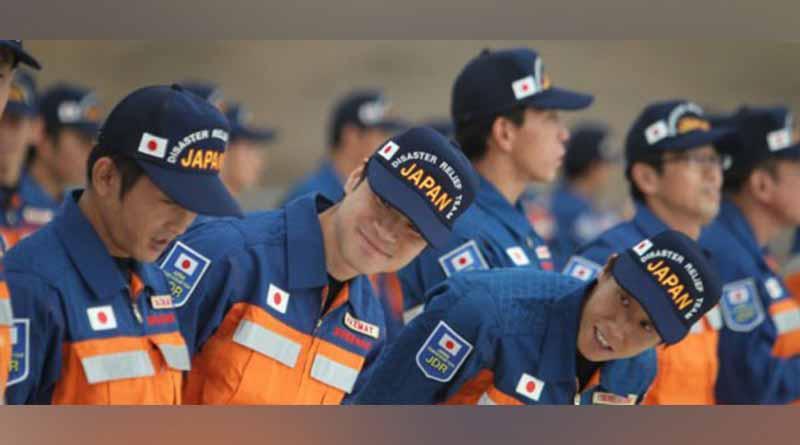 México entrega reconocimiento a rescatistas japoneses por labor en sismo