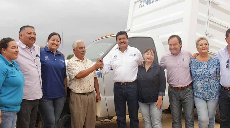 Compromete Alcalde de La Paz su apoyo a la zona rural