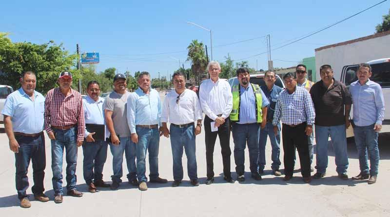 Compromete CEMEX y Gobierno Estatal Concluir Trabajos de Pavimentación de Diversas Calles
