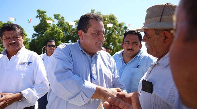 Realiza Gobernador gira por comunidades del municpio de La Paz