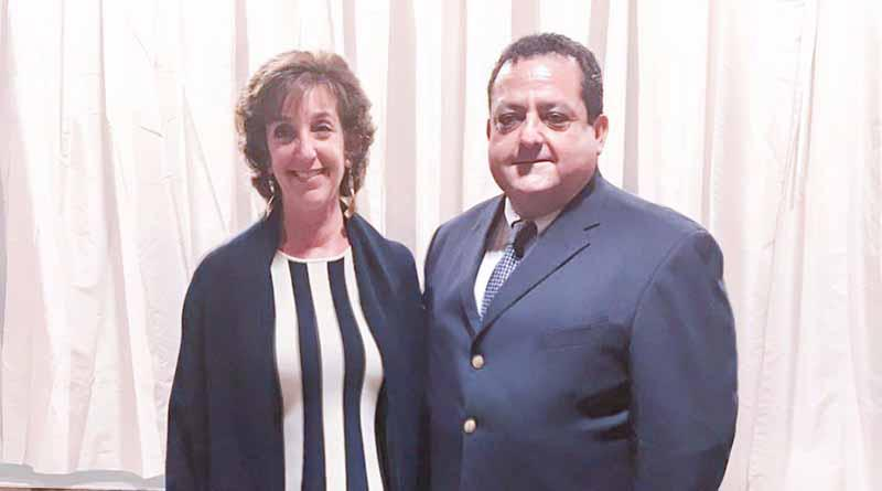 Se reúne le Gobernador Carlos Mendoza con embajadora de EU en México