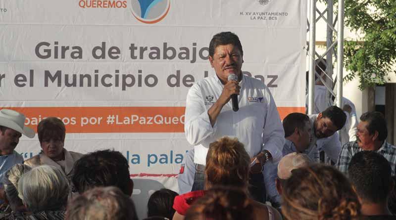 Beneficia SAPA La Paz a colonias Calafia y Cola de Ballena con obras de infraestructura