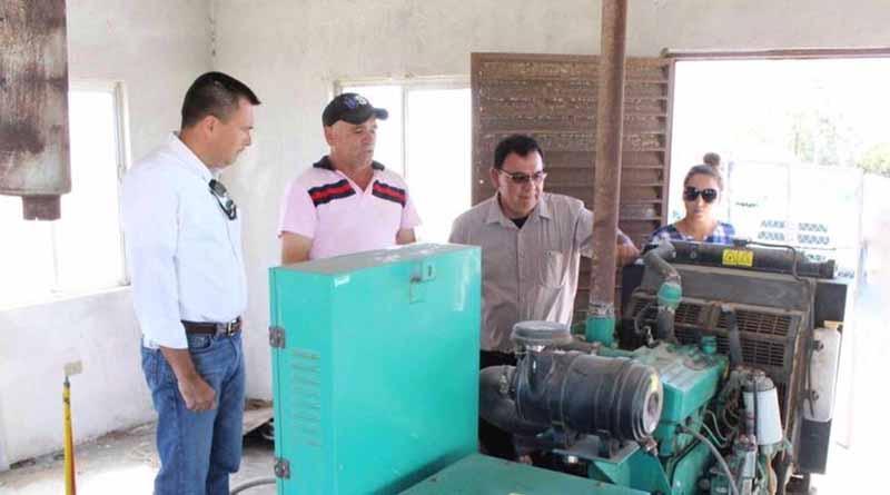 SEDESO asegura el servicio de energía en comunidades del norte del estado