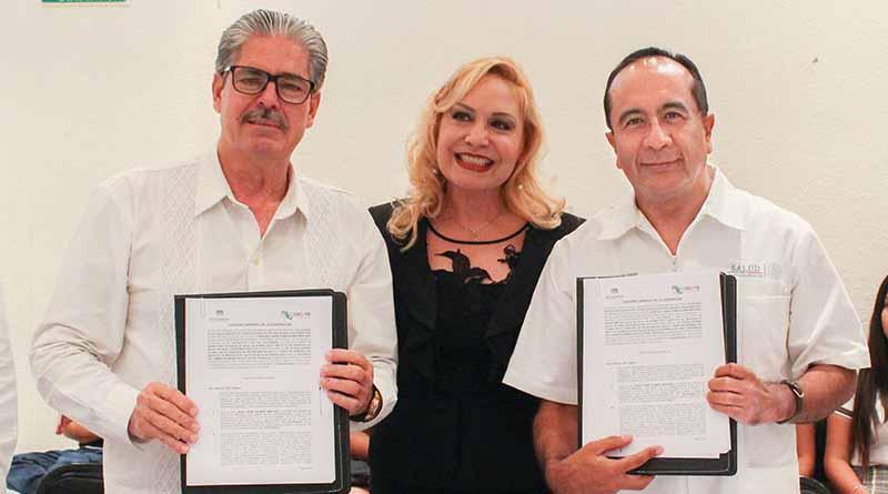 SSA de BCS firma convenio con CECYTE para fortalecer prevención de adicciones