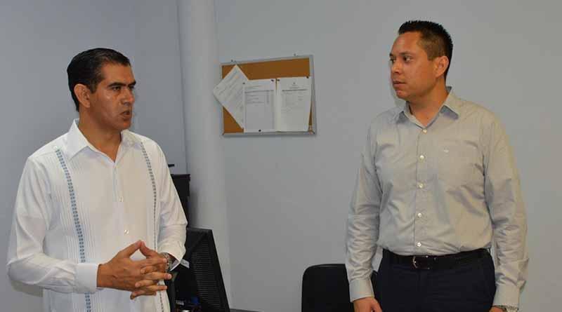 Nombra Sigala Páez a nuevo titular de seguridad privada de la SSPE