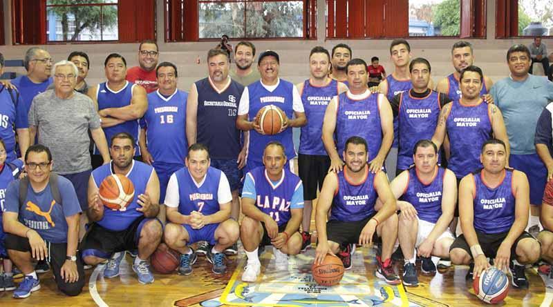 Buen inicio del Torneo de Basquetbol del Ayuntamiento de La Paz