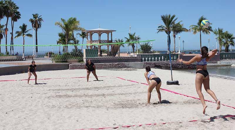 Positivo resultó el Torneo de Voleibol de Playa Juvenil