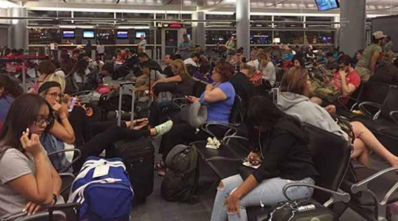 Aeropuerto capitalino opera con normalidad este miércoles