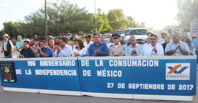 Conmemoran 196 Aniversario de la Consumación de la Lucha de Independencia