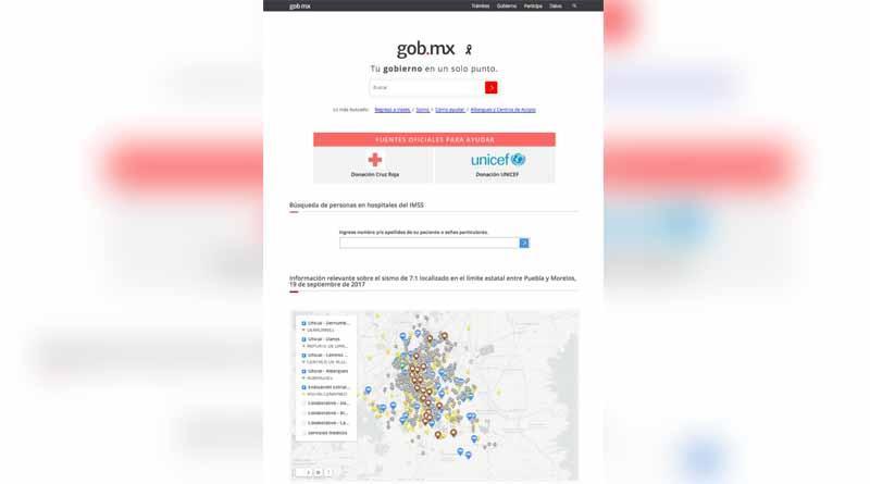 Sociedad y Gobierno hacen uso de la tecnología para colaborar durante la emergencia del sismo