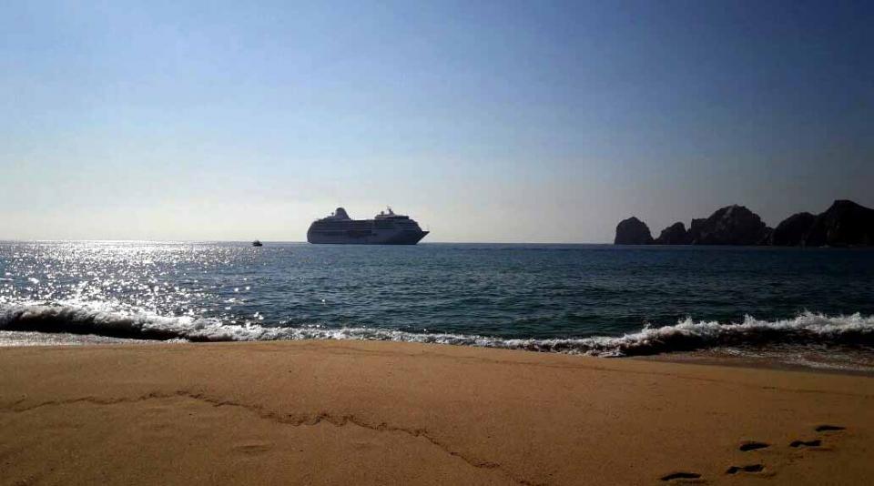 Extraordinario crecimiento de visitantes a Los Cabos vía cruceros
