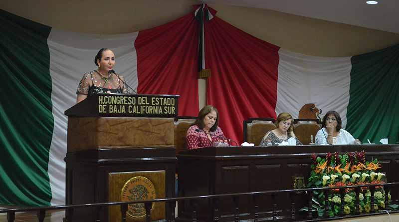 La XIV Legislatura ha sido productiva a favor de la sociedad sudcaliforniana: Eda Palacios