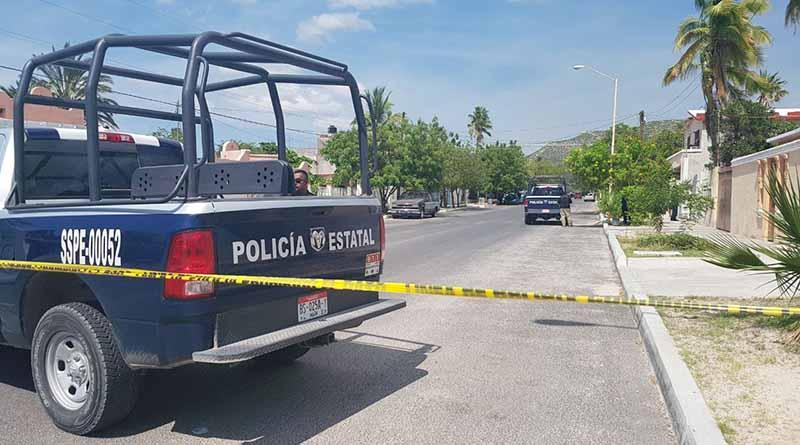 Asesinan a tiros a un hombre en la colonia Guerrero en La Paz
