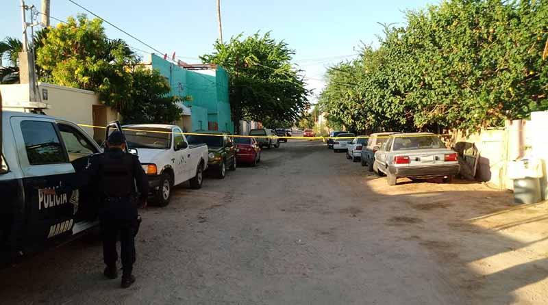Fue asesinado a balazos un hombre en la colonia El Manglito en La Paz