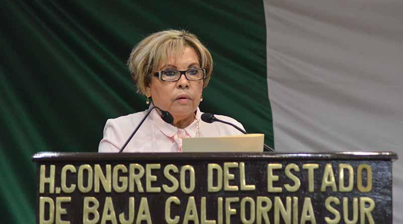 Urge la Diputada Guadalupe Rojas Moreno a que se dictaminen asuntos pendientes en el Congreso del Estado