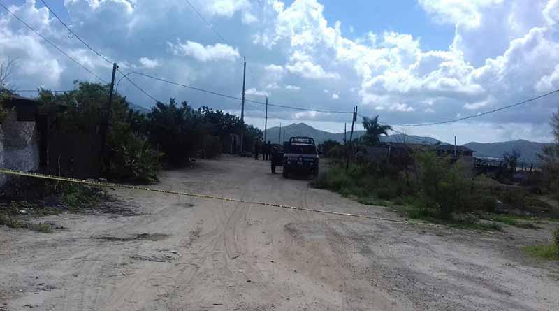 Tiran cuerpo de hombre baleado en colonia de La Paz